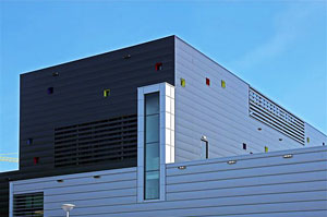 Фасад вентилируемый люксалон