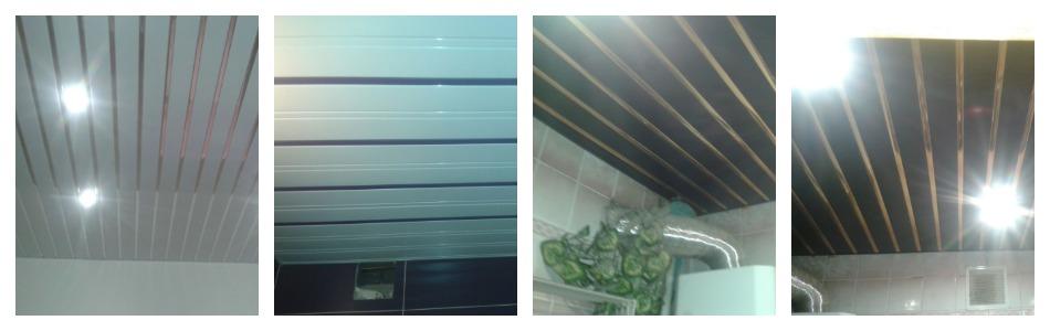 Подвесной потолок алюминиевый реечный