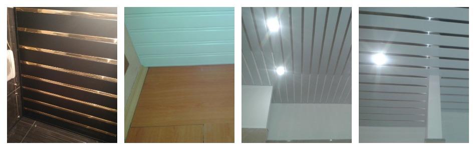 Достоинства потолка из алюминиевых реек