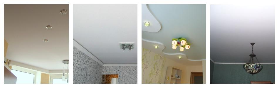 Матовый потолок выбор