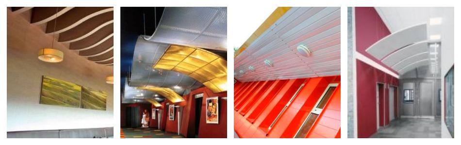 Подвесные потолки для улицы