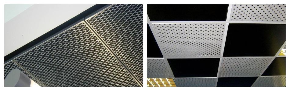 Преимущества металлических потолков