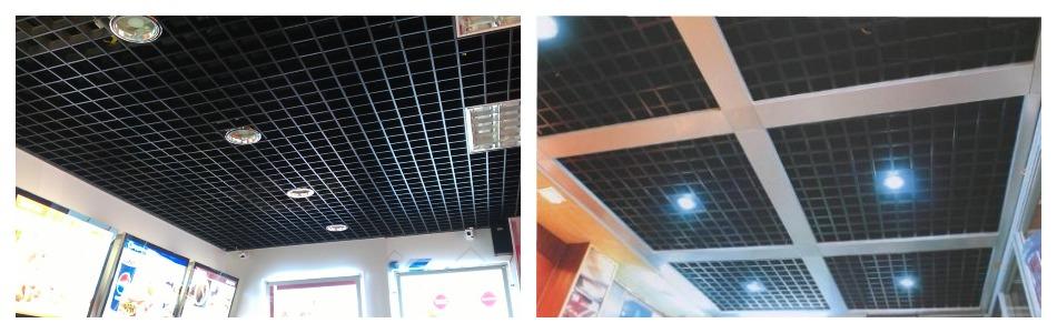 Отрицательные качества металлических потолочных покрытий
