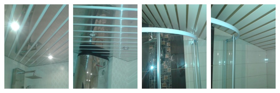 установка подвесного потолка в ванной