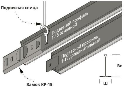 Потолок кр-15 пример фотографии