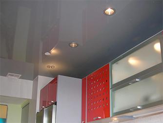 Подвесной натяжной потолок